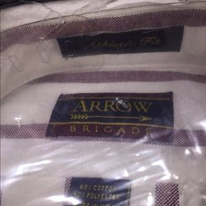 NWT Arrow Brigade Men's Long sleeves casual shirt